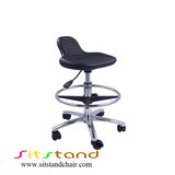 TF03-4 Sit-Stand Seat for cleanroom, food and general industry