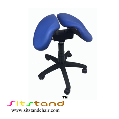 TFS12   two part saddle seat ergonomic chair