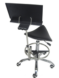 Saddle Shape Guitar Chair  With Music Stand