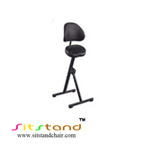 TFS09 sit stand chair with backrest