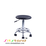 TF02-1 Industrial Lab Chairs round cushion