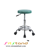 TF10-4  green cushion cleanroom stool