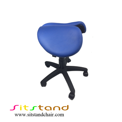 TFS12-2 blue school saddle chair
