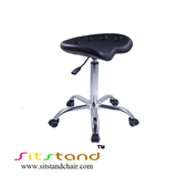 TF07-1 with castor big seat black Lab stool