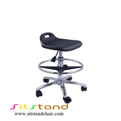 TF01-4 cleanroom swivel chair with footring