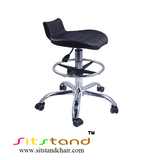 TF06-3 with foorting sit stand stool